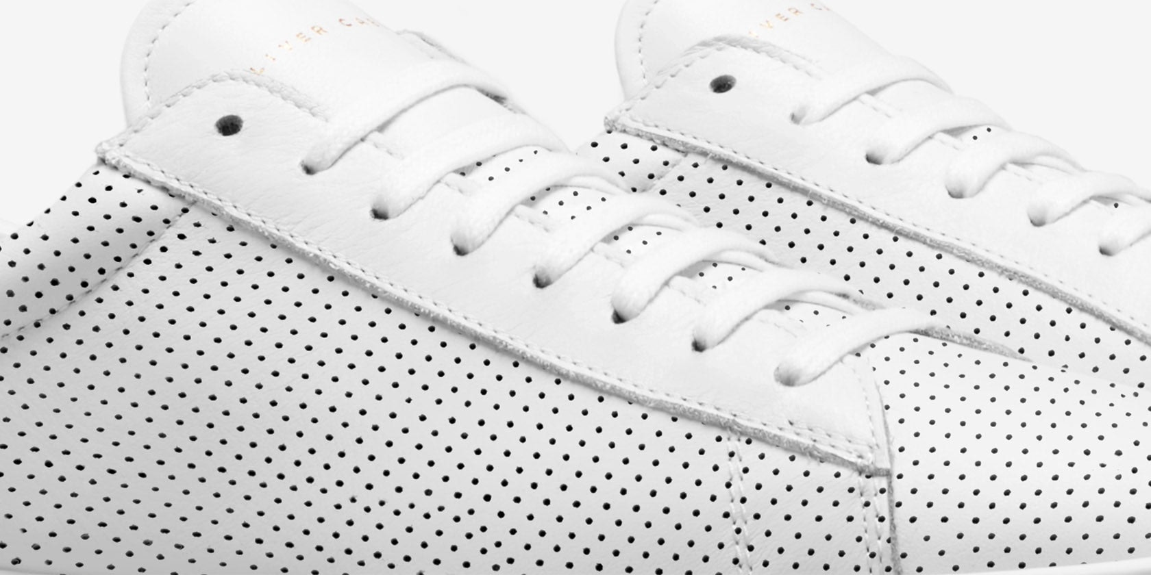 Design Details for Low 1 | Perf White — Pre Order