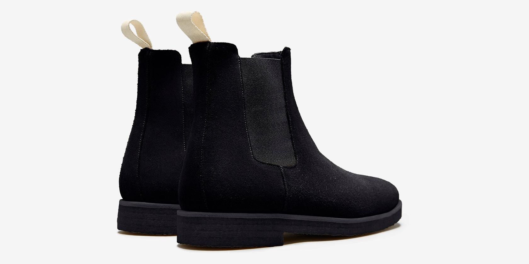 Design Details for Chelsea Boot   Black