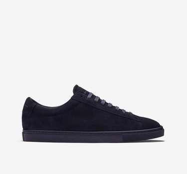 Men's / Navy Split Suede / 6