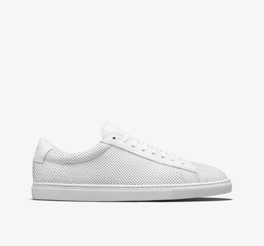 Women's / Perforated White / 5